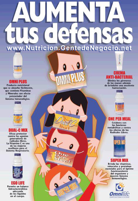 Productos Omnilife para Aumentar Defensas