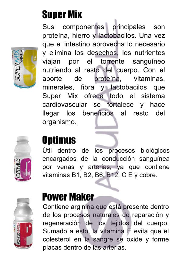 Productos Omnilife para el Sistema  Cardiovascular