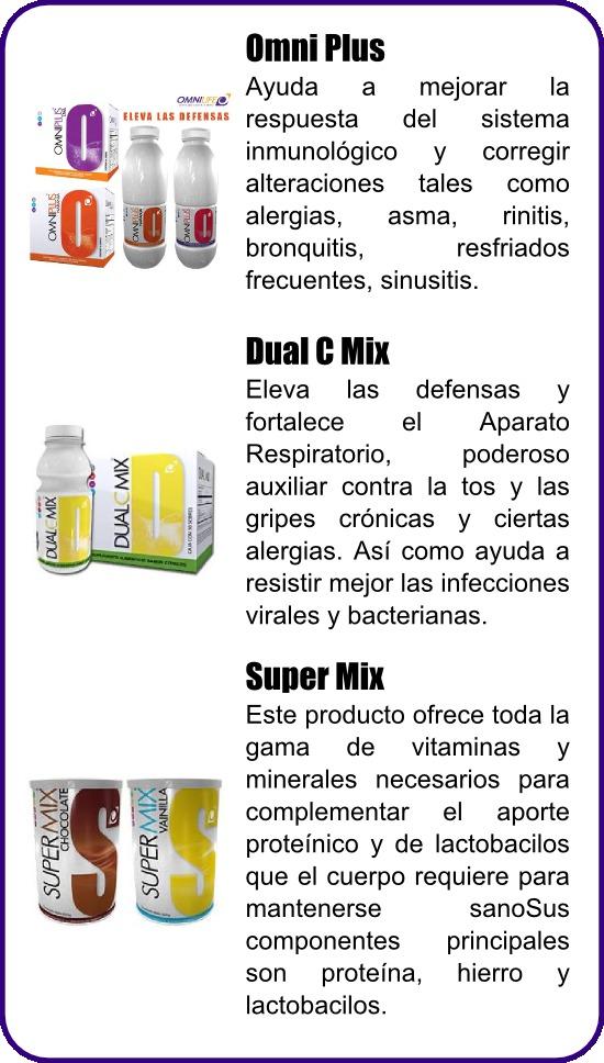 Productos Omnilife que ayudan a fortalecer el Sistema Inmunológico