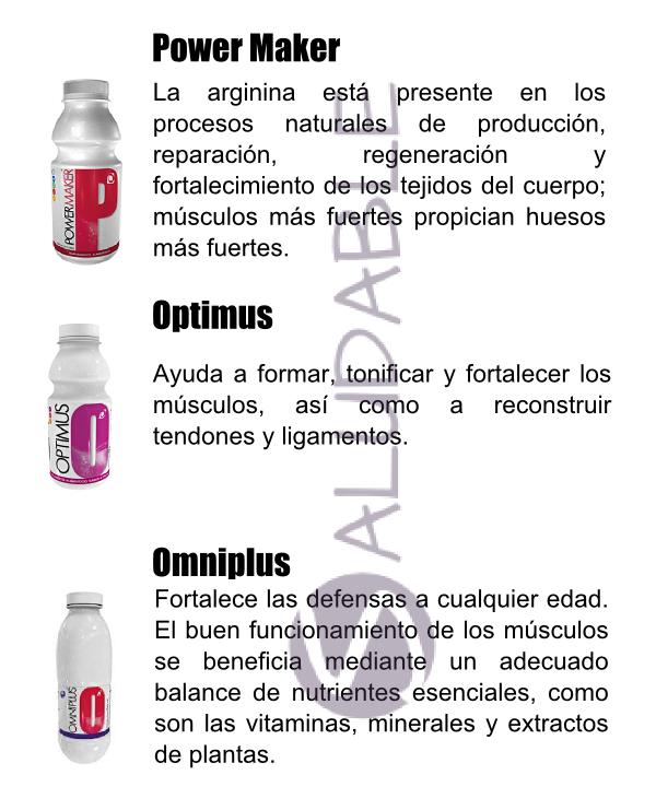 Productos Omnilife para el Sistema Muscular