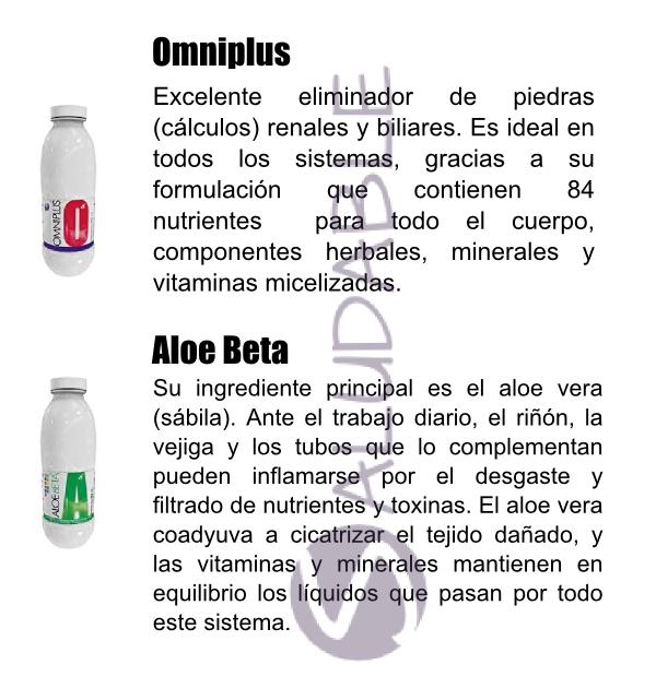 Productos Omnilife para el Sistema Digestivo