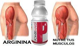 Power Maker con arginina que repara y regenera tejidos del cuerpo.