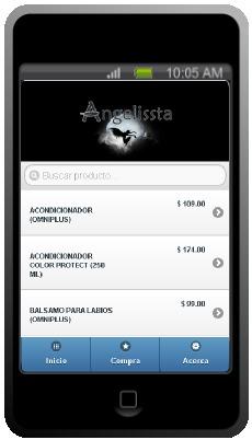 Aplicación Angelissta Omnilife